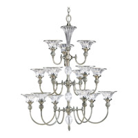 Progress Lighting Thomasville Roxbury 15 Light Chandelier in Classic Silver P4508-101
