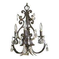 Progress Lighting Thomasville Savona 3 Light Chandelier in Cognac P4544-72