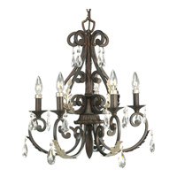 Progress Lighting Thomasville Savona 5 Light Chandelier in Cognac P4547-72