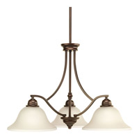 Spirit 3 Light 27 inch Antique Bronze Chandelier Ceiling Light
