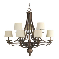 Progress Lighting Thomasville Meeting Street 9 Light Chandelier in Roasted Java P4568-102