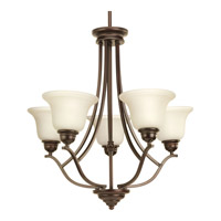Progress Spirit 5 Light Chandelier in Antique Bronze P4605-20