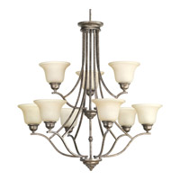Spirit 9 Light 32 inch Pebbles Chandelier Ceiling Light
