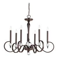 Esteem 7 Light 34 inch Antique Bronze Chandelier Ceiling Light