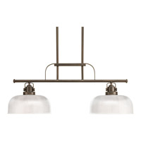 Progress Lighting Archie 2 Light Chandelier in Venetian Bronze P4624-74
