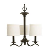 Progress P4632-20 Inspire 3 Light 16 inch Antique Bronze Chandelier Ceiling Light