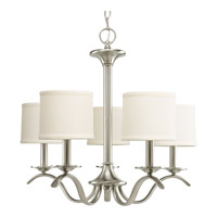 Inspire 5 Light 23 inch Brushed Nickel Chandelier Ceiling Light