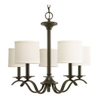 Progress Lighting Inspire 5 Light Chandelier in Antique Bronze P4635-20