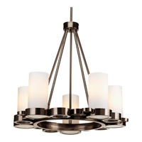 Progress Lighting Bingo 5 Light Chandelier in Venetian Bronze P4647-74