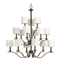 Progress Inspire 15 Light Tier Chandelier in Antique Bronze P4650-20