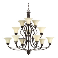 Applause 12 Light 42 inch Antique Bronze Chandelier Ceiling Light