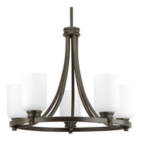 Progress Lighting Orbitz 5 Light Chandelier in Antique Bronze P4659-20