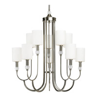 Progress Lighting Thomasville Splendid 10 Light Chandelier in Brushed Nickel P4681-09