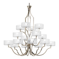 Caress 16 Light 47 inch Polished Nickel Chandelier Ceiling Light