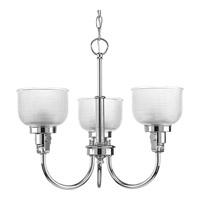 Progress Lighting Archie 3 Light Chandelier in Chrome P4688-15