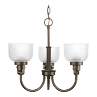 Progress Lighting Archie 3 Light Chandelier in Venetian Bronze P4688-74