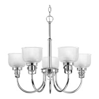 Archie 5 Light 25 inch Chrome Chandelier Ceiling Light