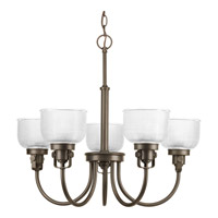 Progress Lighting Archie 5 Light Chandelier in Venetian Bronze P4689-74