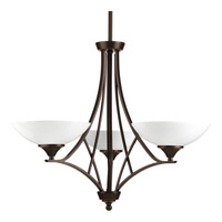 Progress Lighting Prosper 3 Light Chandelier in Antique Bronze P4701-20