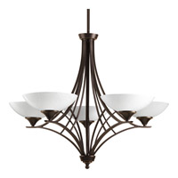 Progress Lighting Prosper 5 Light Chandelier in Antique Bronze P4702-20