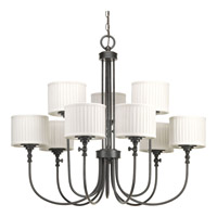 Clayton 9 Light 37 inch Espresso Chandelier Ceiling Light