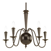 Progress Identity 5 Light Chandelier in Antique Bronze P4713-20