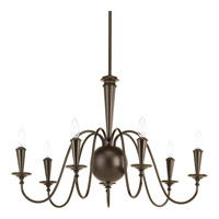 Progress Identity 7 Light Chandelier in Antique Bronze P4714-20