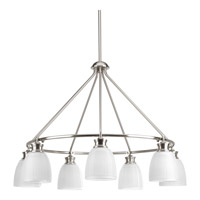 Lucky 7 Light 31 inch Brushed Nickel Chandelier Ceiling Light