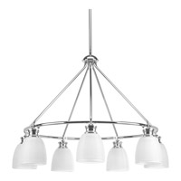 Progress P4724-15 Lucky 7 Light 31 inch Polished Chrome Chandelier Ceiling Light