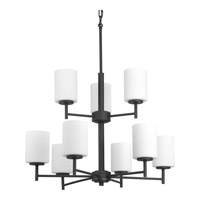 Replay 9 Light 26 inch Black Chandelier Ceiling Light