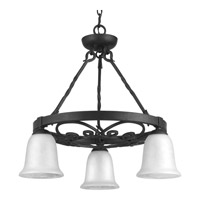 Enclave 3 Light 24 inch Gilded Iron Chandelier Ceiling Light