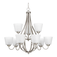 Arden 9 Light 31 inch Brushed Nickel Chandelier Ceiling Light