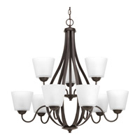 Arden 9 Light 31 inch Antique Bronze Chandelier Ceiling Light