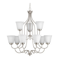 Keats 9 Light 31 inch Brushed Nickel Chandelier Ceiling Light
