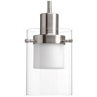 Moderna LED 6 inch Brushed Nickel Mini-Pendant Ceiling Light