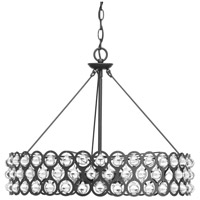 Vestique 6 Light 25 inch Graphite Pendant Ceiling Light