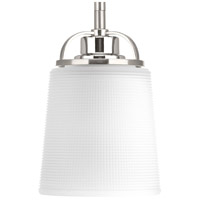 West Village 1 Light 5 inch Brushed Nickel Mini-Pendant Ceiling Light, Design Series