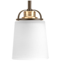 West Village 1 Light 5 inch Antique Bronze Mini-Pendant Ceiling Light, Design Series