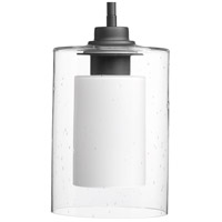 Signature 1 Light 6 inch Graphite Mini-Pendant Ceiling Light