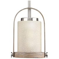 Aspen Creek 1 Light 7 inch Brushed Nickel Mini-Pendant Ceiling Light, Design Series