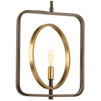 Swing 1 Light 11 inch Antique Bronze Mini-Pendant Ceiling Light