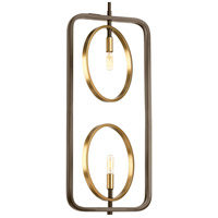 Swing 2 Light 11 inch Antique Bronze Pendant Ceiling Light