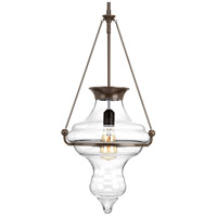 Cazbah 1 Light 14 inch Antique Bronze Pendant Ceiling Light