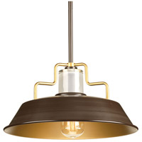 Archives 1 Light 14 inch Antique Bronze Pendant Ceiling Light