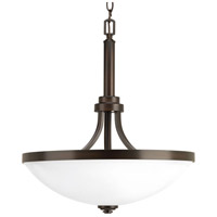 Progress P500054-020 Topsail 3 Light 19 inch Antique Bronze Foyer Pendant Ceiling Light