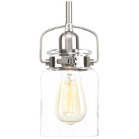 Calhoun 1 Light 5 inch Brushed Nickel Pendant Ceiling Light