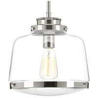 Judson 1 Light 11 inch Polished Nickel Pendant Ceiling Light