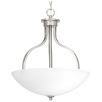 Laird 3 Light 17 inch Brushed Nickel Inverted Pendant Ceiling Light