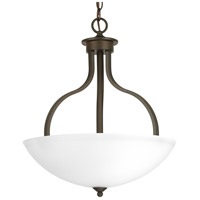 Laird 3 Light 17 inch Antique Bronze Inverted Pendant Ceiling Light