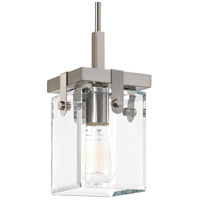 Glayse 1 Light 7 inch Brushed Nickel Mini Pendant Ceiling Light, Design Series